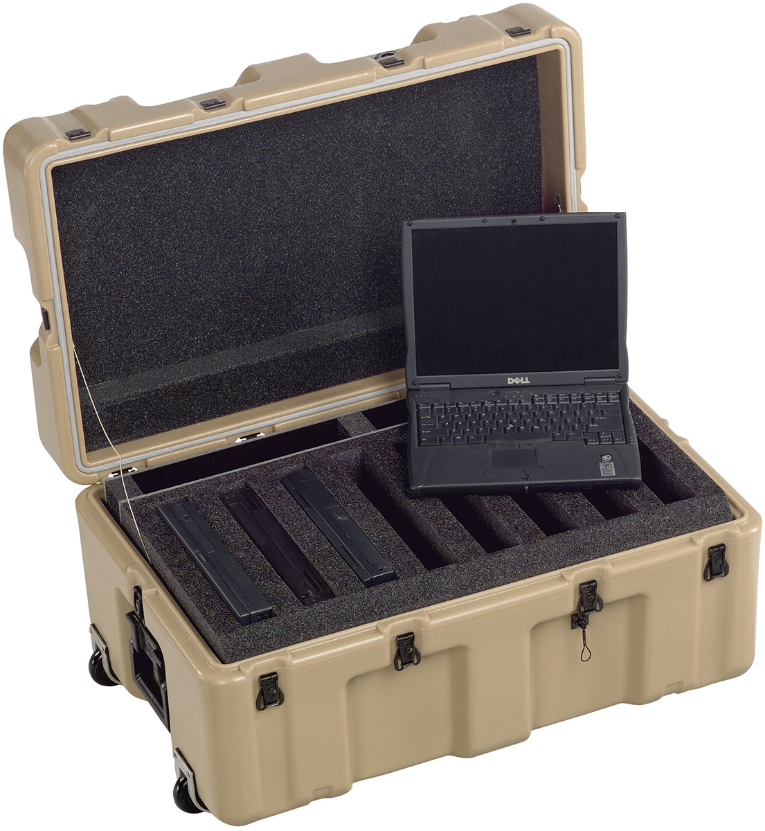 pelican 472 8 laptop military army laptop plastic case