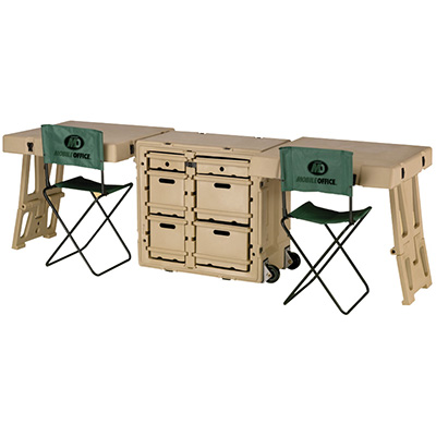 pelican military office field desk