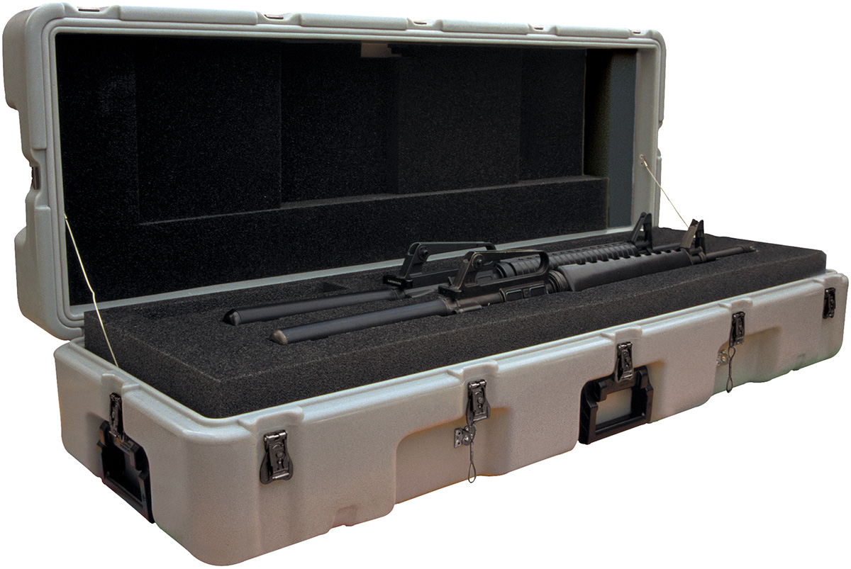 pelican 472 m16 2 usa military dual m16 rifle case