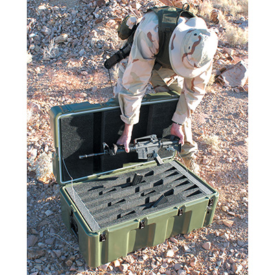 pelican military m4 m11 rifle transport case