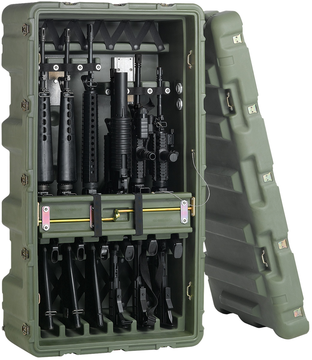 pelican peli products 472 M4 M16 6 usa military m4 m16 hardcase