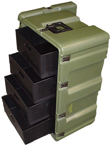 pelican peli products 472 MED 4 DRAWER usa military medical cabinet