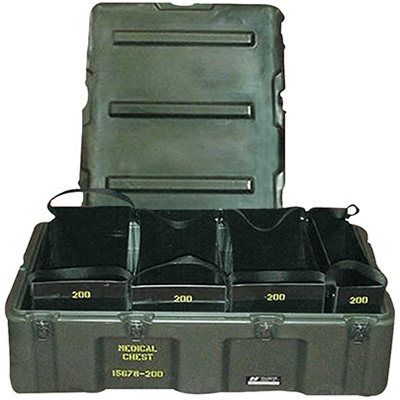 pelican 472 med 4 tote usa military medical tote