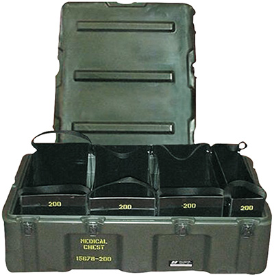 pelican peli products 472 MED 4 TOTE usa military medical tote