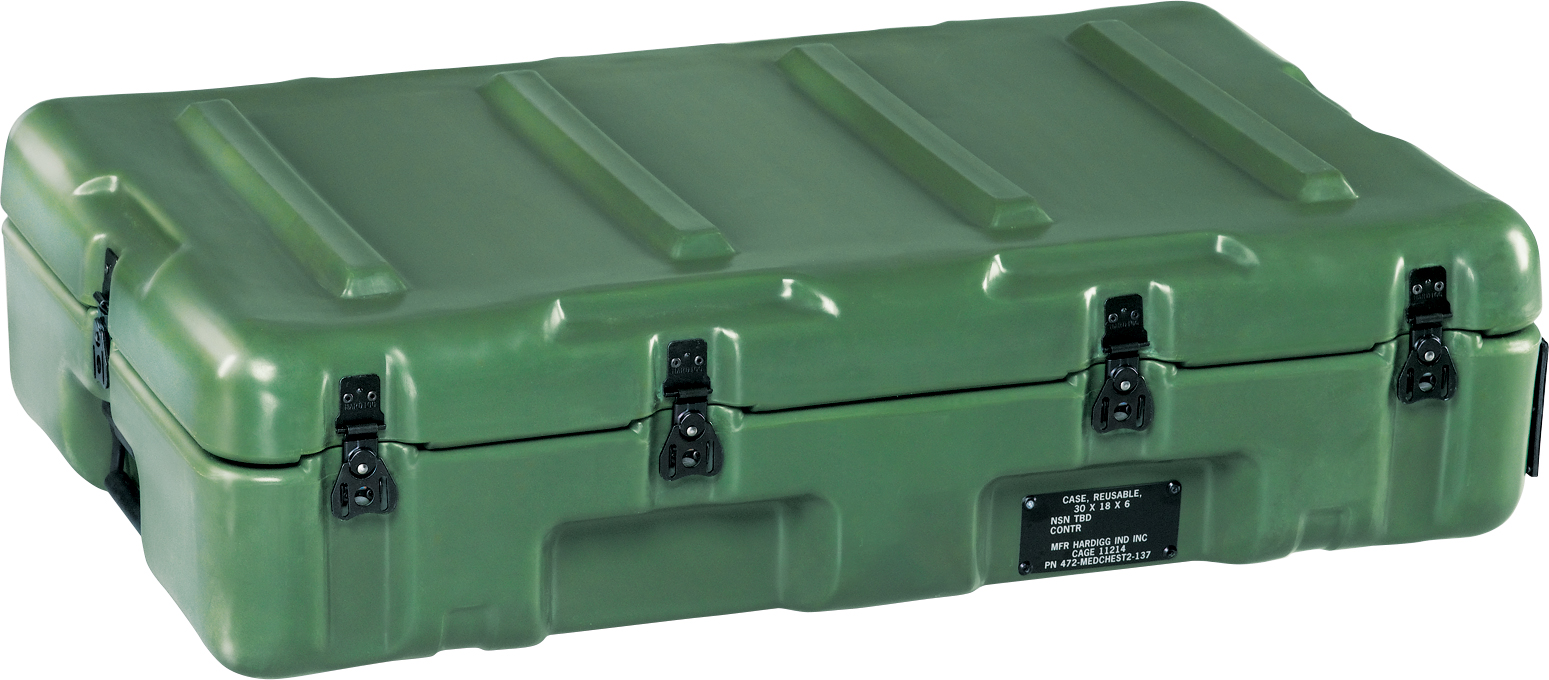 pelican military mobile medical chest