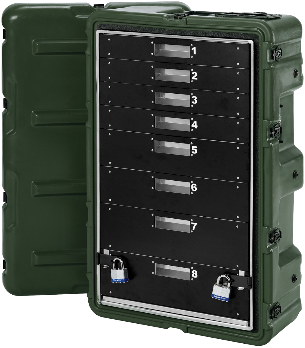 pelican peli products 472 MEDCHEST3 8D mobile military medical cabinet