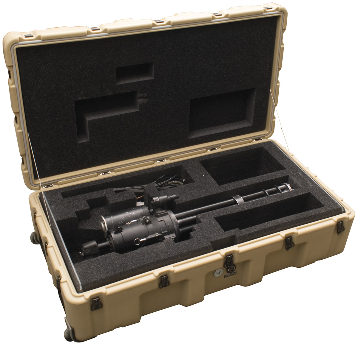 pelican 472 minigun usa military gatling minigun case