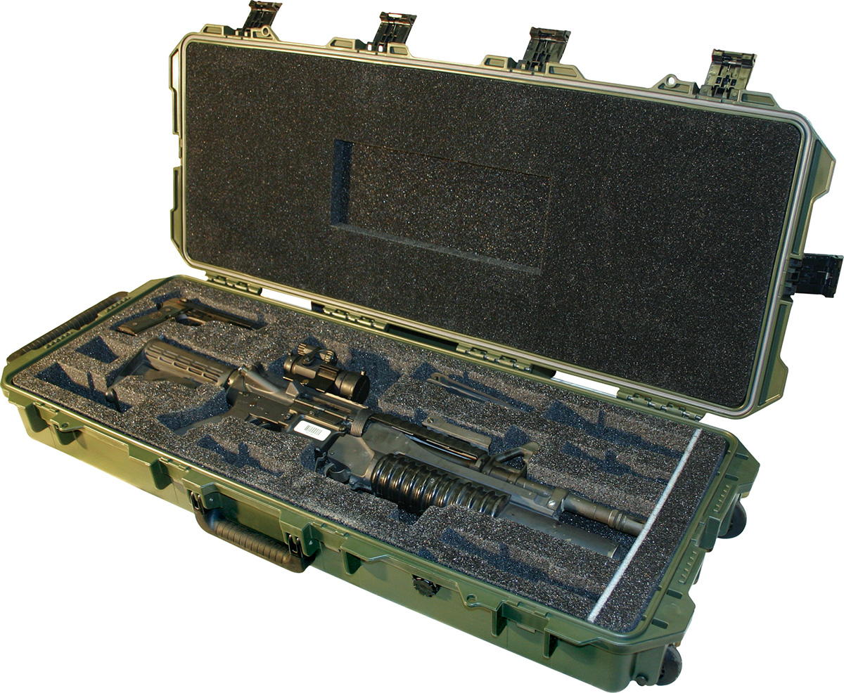 pelican hard m4 rifle military usa case