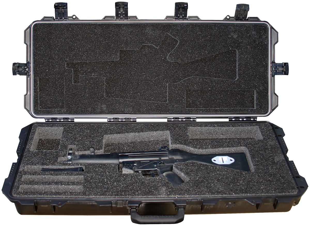 pelican peli products 472 PWC MP5 military mp5 machine gun case