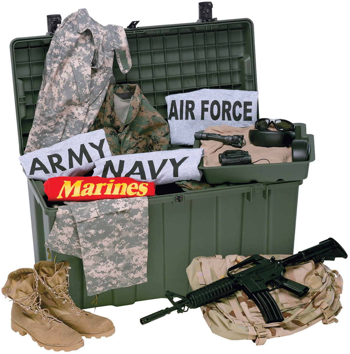 pelican military secure field trunk locker