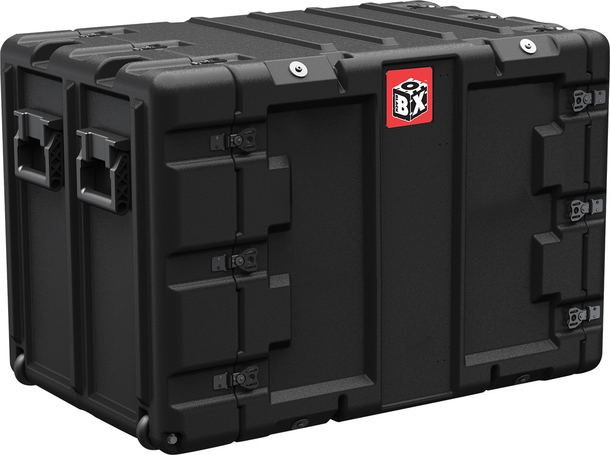 peli 11u black box large rack mount case