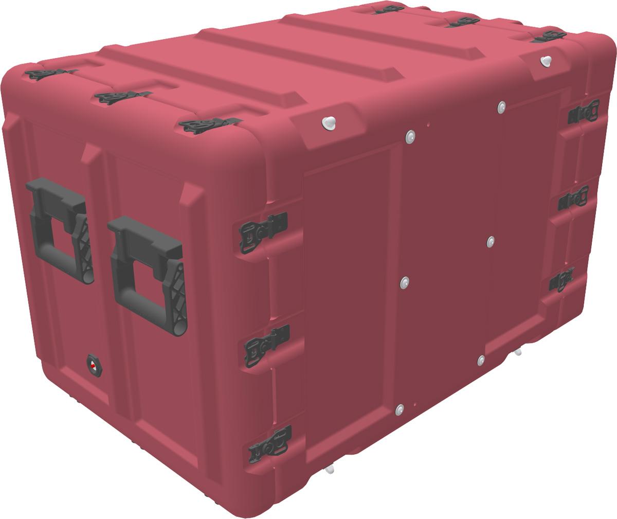 peli min mac rack case mr10u-40-610-100