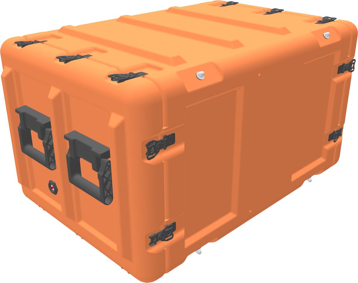 peli min mac rack case mr8u-40-610-40