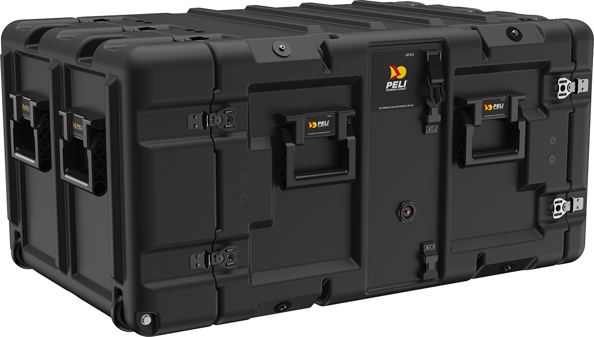 peli super-v-series-7u double end rack mount cases