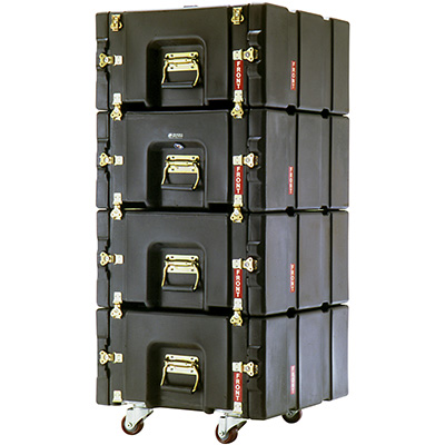 pelican prorack rack mount hard rolling server cases