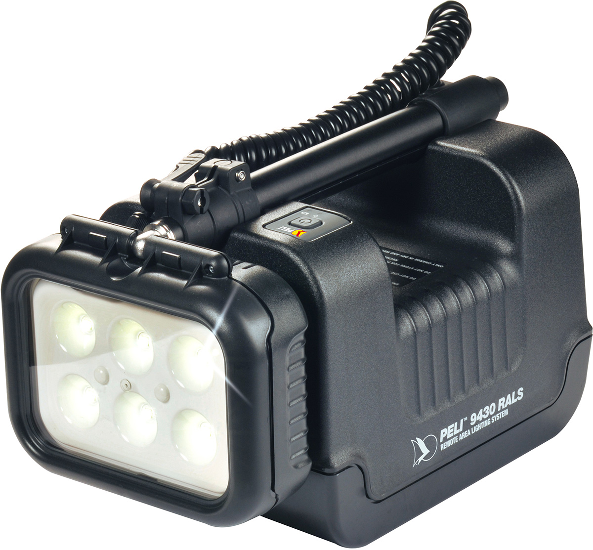 peli 9430 rechargeable portable led spot light