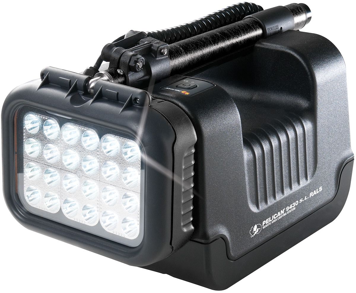 pelican led work industrial spot light lumens