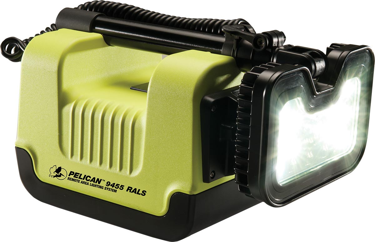 pelican safety remote area light 9455 rals