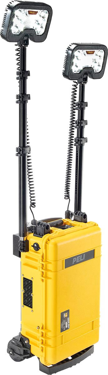 peli 9460m led work light rolling case