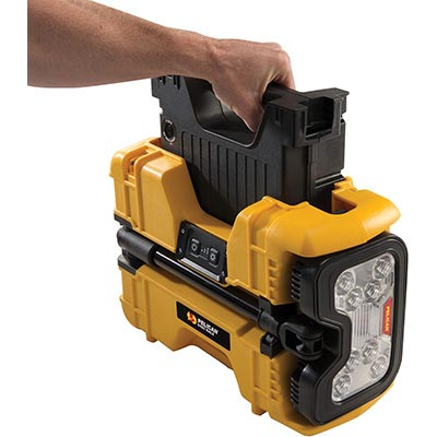 pelican rechargeable portable led spot light