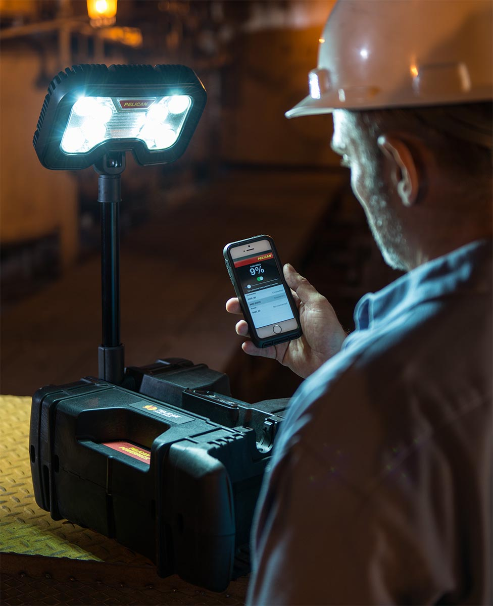 buy pelican remote area lights 9480 shop wireless bluetooth portable spotlight