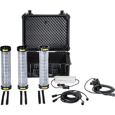 pelican 9500 led work shelter tent light bar kit
