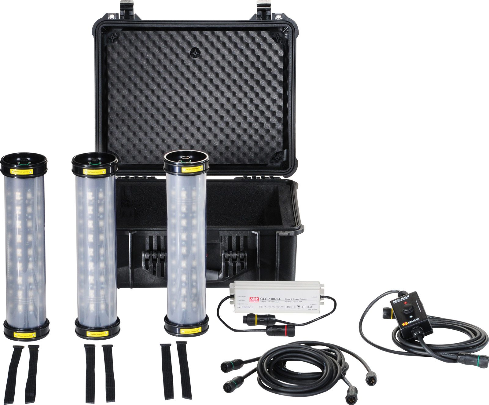 pelican led work shelter tent light kit