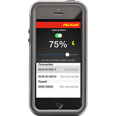 pelican rals remote area lights bluetooth app