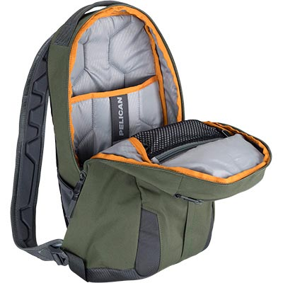 pelican green backpack mobile protect