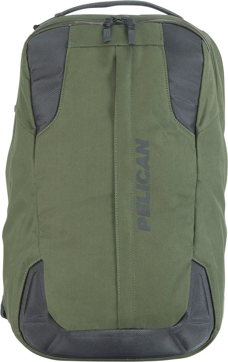 pelican green protective waterproof backpack