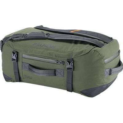 pelican travel bag green duffel backpack
