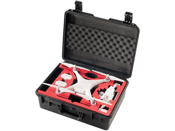 Pelican Custom Drone cases and case foam