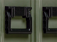 Pelican case handles custom made
