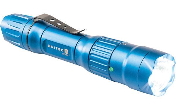 peli united airlines flashlight custom flashlights