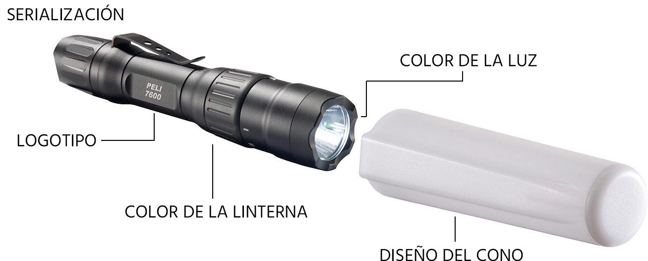 pelican products custom flashlights 7600 police flashlight wand