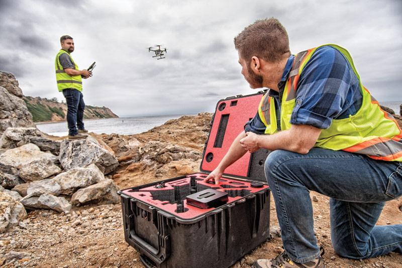 pelican professional camera drone case