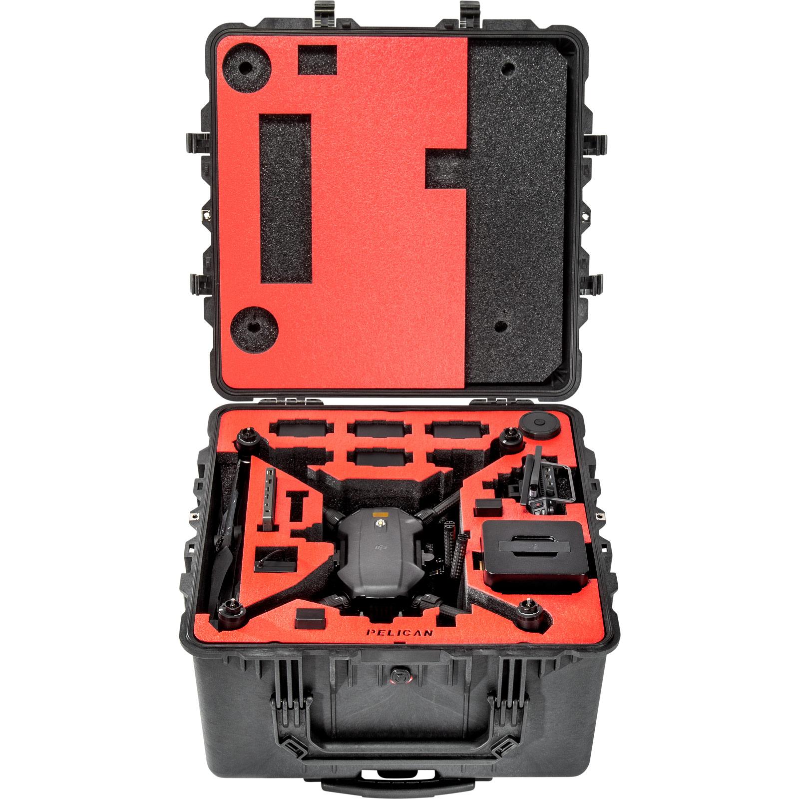 pelican matrice 200 custom foam drone case