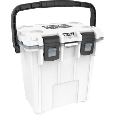 pelican 20qt white elite cooler