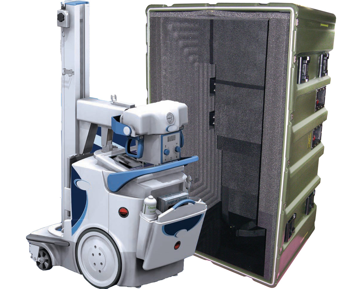 Peli dragon radiography system case