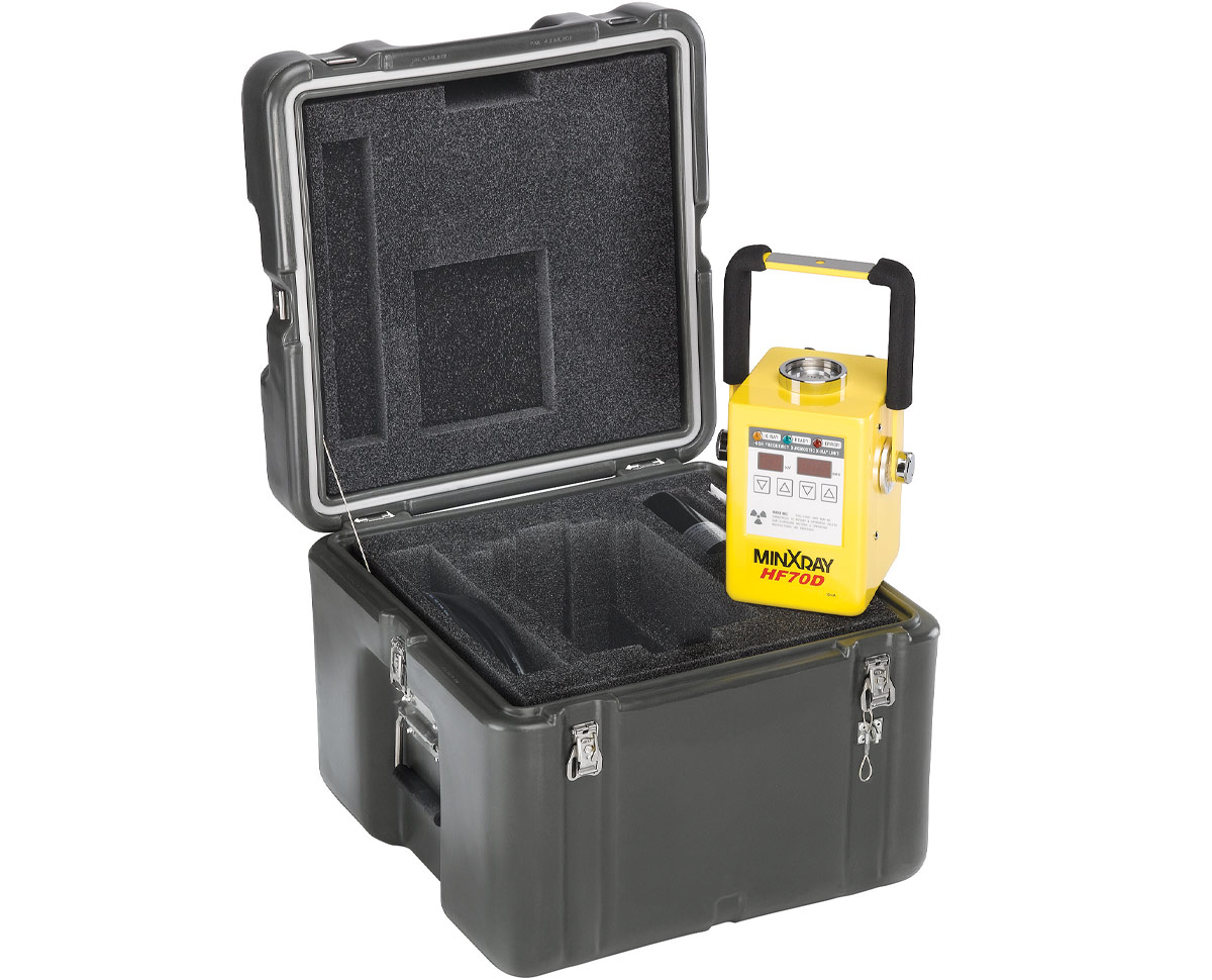 Peli mini x ray custom foam case