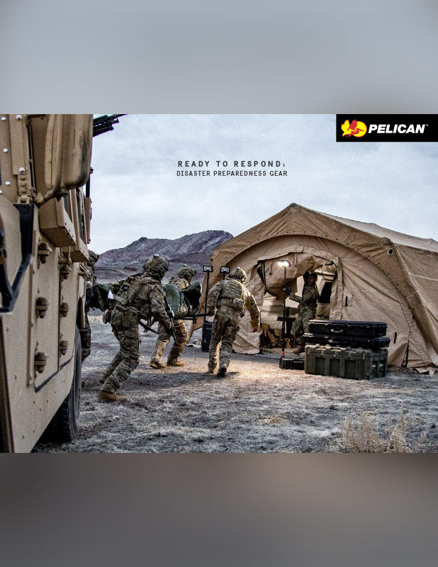 pelican disaster preparedness gear military