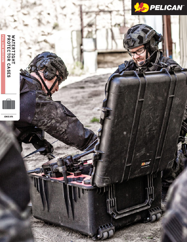 pelican protector cases full line brochure law