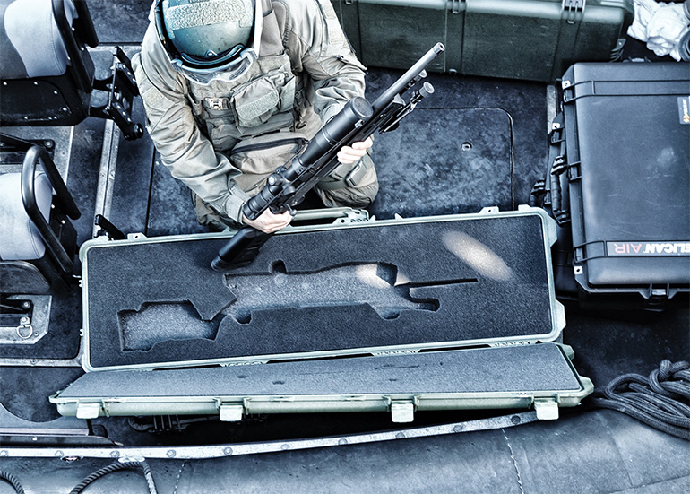 pelican military government weapon cases