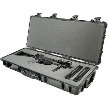 use made police rifle hard shell case