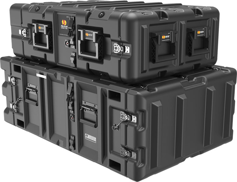 pelican v-series medium duty rack mount case