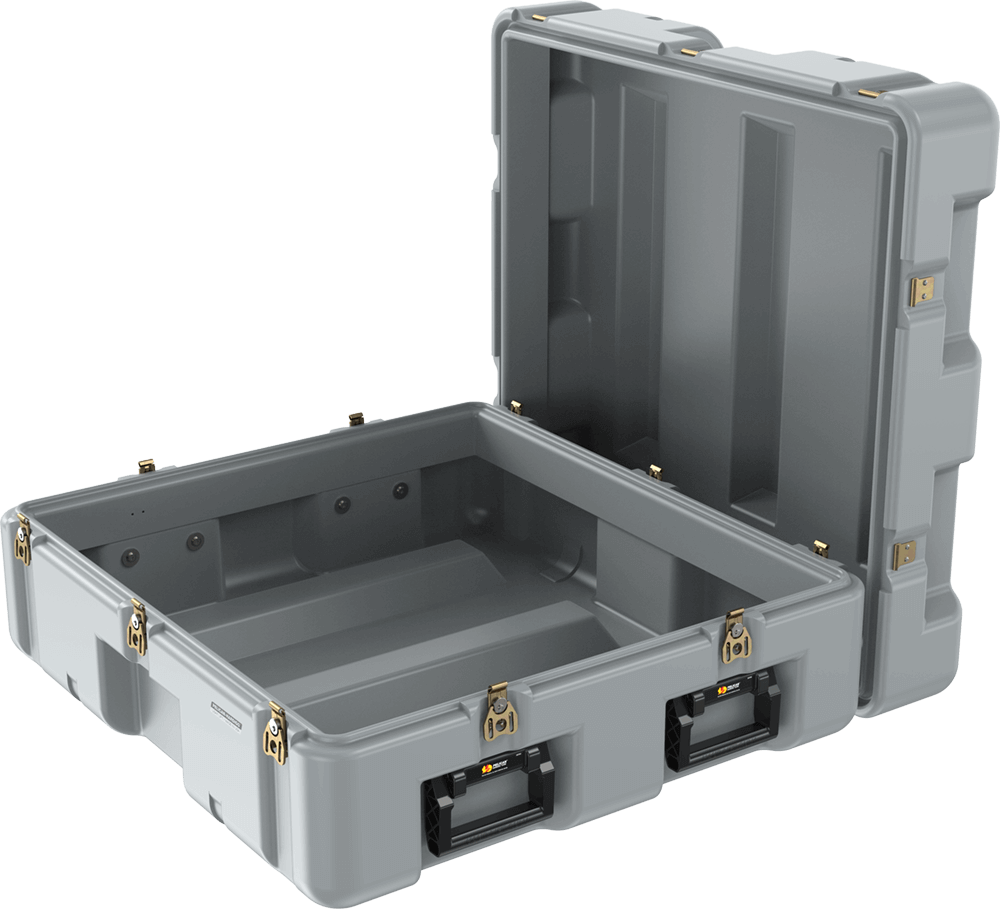 pelican single lid light lift case