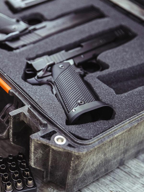 pelican vault pistol handgun cases
